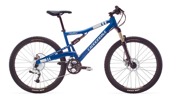 Cannondale Rush Full Suspension Mountain Bike Natural High