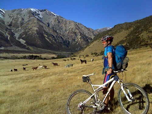 Cycling Molesworth Station