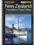 Kiwimaps NZ Travellers Atlas