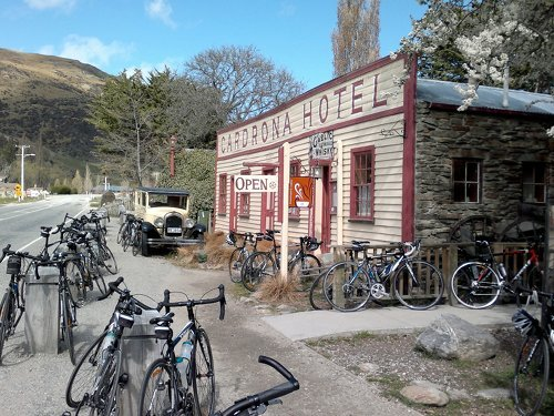 cycle touring nz: bring your own bike or buy/hire here?