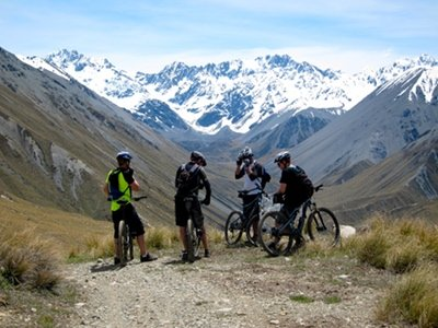 south island mountain biking