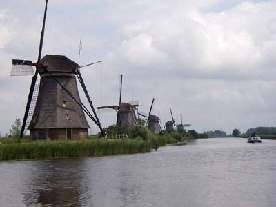 The Kinderdijk