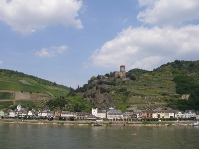 The Rhine Valley near St Goar