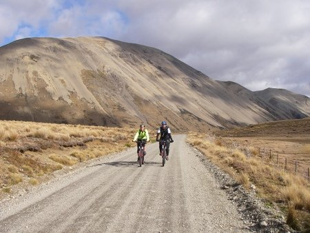 MTBing South Island