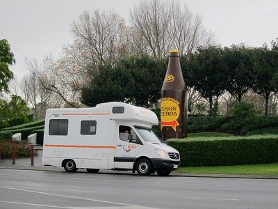 britz campervan hire