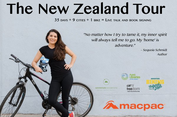 Sequoia Schmidt NZ Book Tour