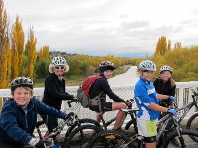 family cycling holidays in NZ