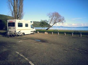 freedom camping in New Zealand