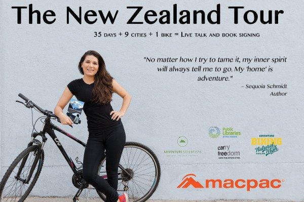 Sequoia Schmidt NZ Book Tour