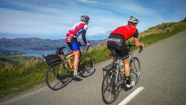 Cycle touring on the Banks Peninsula